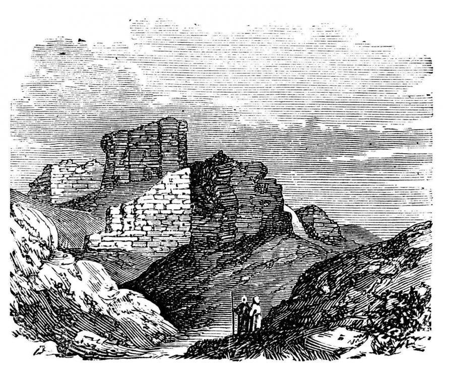 Babylonian Palace Ruins