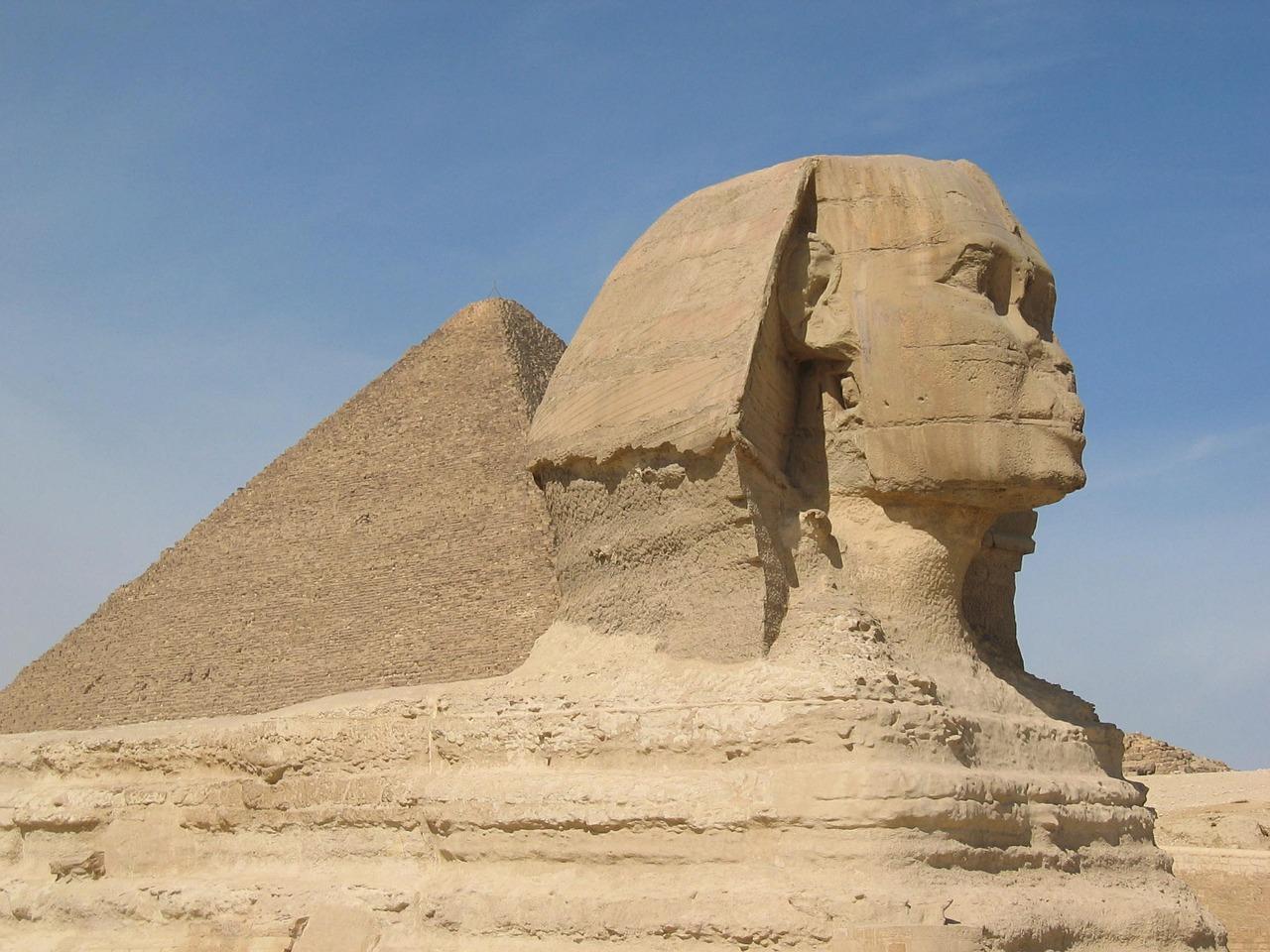 Pyramids and Spinx